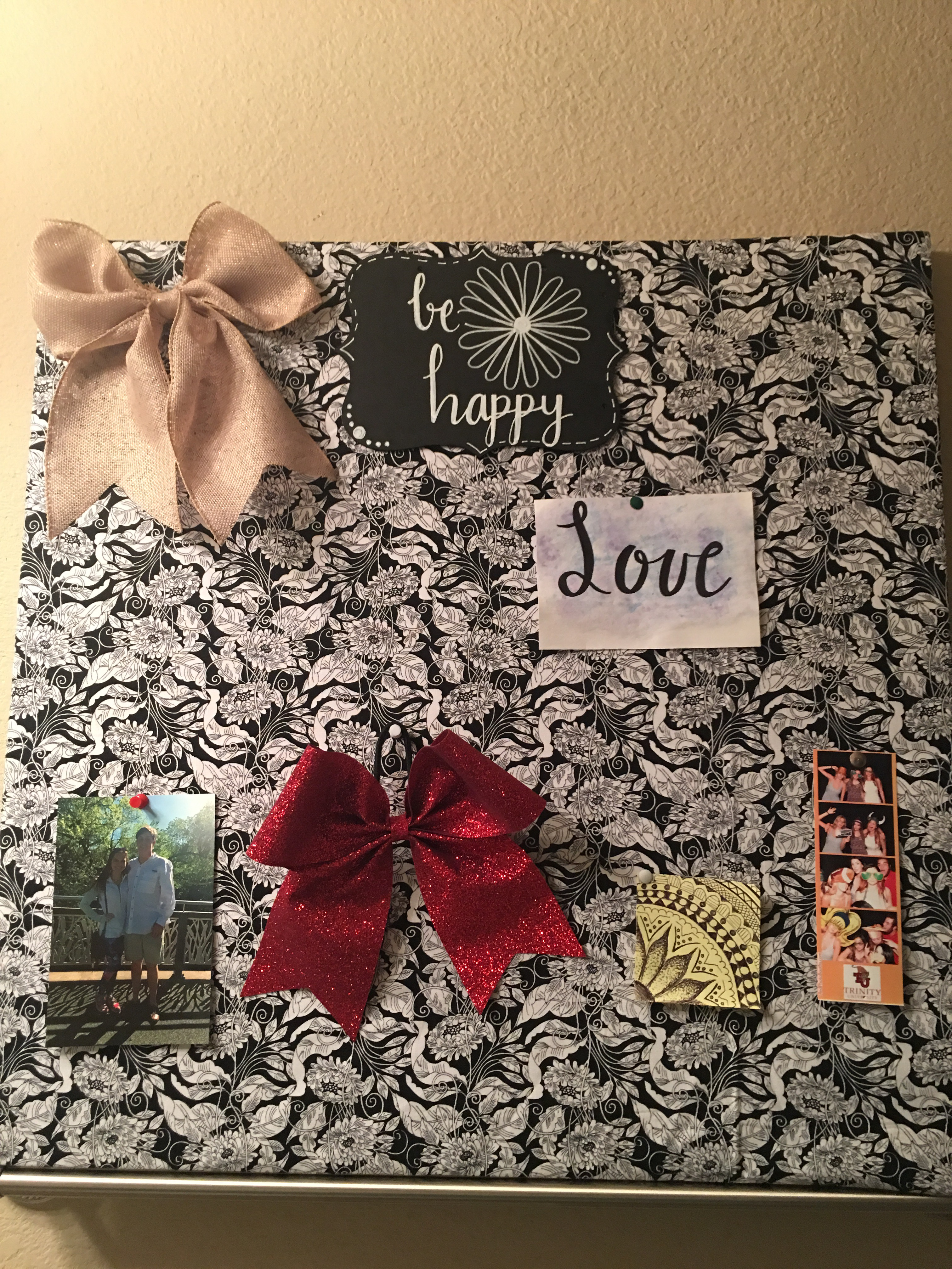 Diy Foam Board Picture Collage Designing Happiness